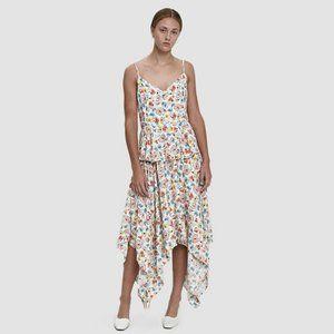 NWOT Farrow Floral Handkerchief Dress L